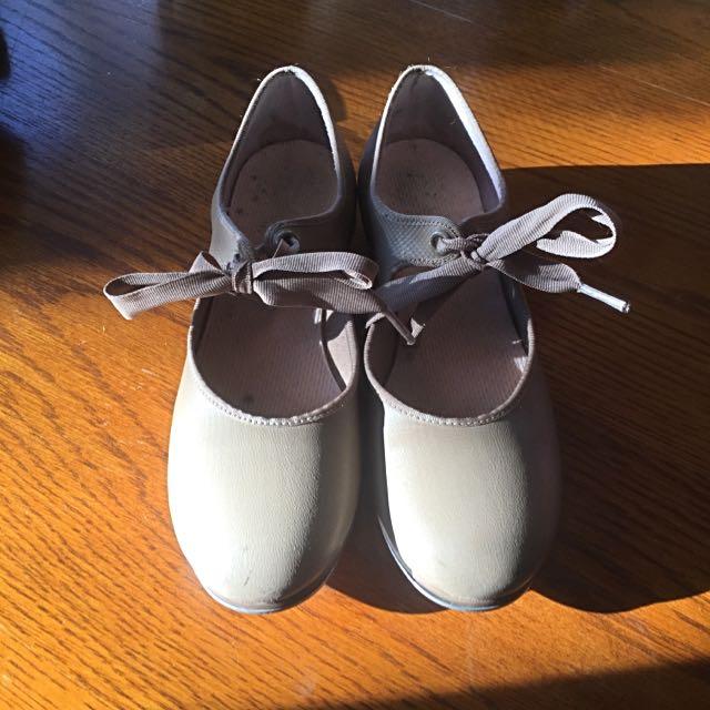 Capezio Tan Tap Shoes
