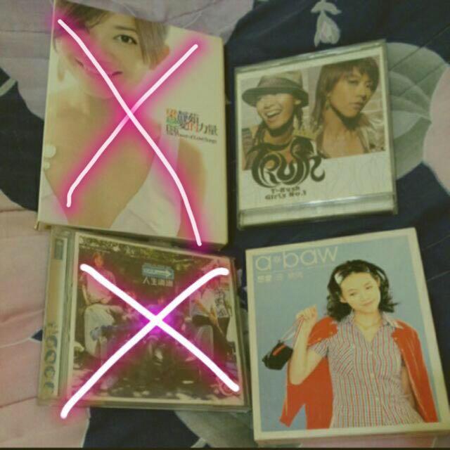 正版二手CD,曾寶儀、T-bush