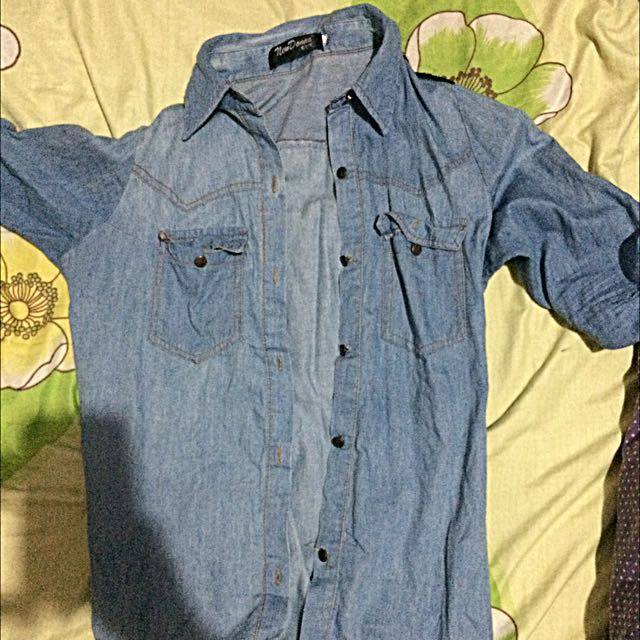Chambray (Denim) Blouse