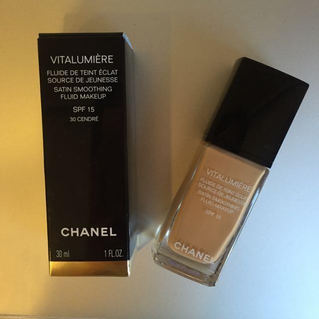 Chanel 香奈兒 活力粉底乳 粉底液 全新未使用 #30