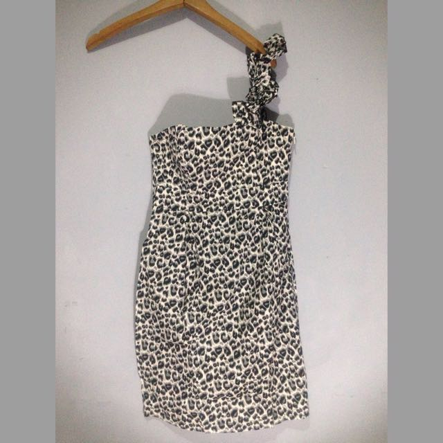 Cleopard dress body & soul