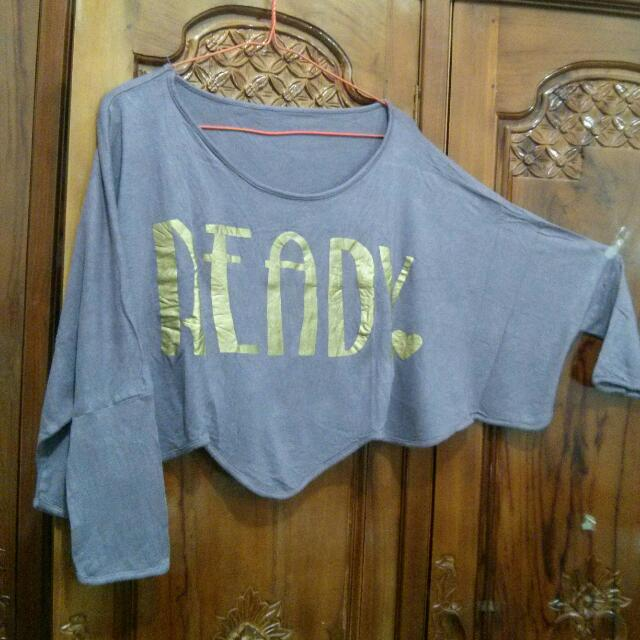 Crop Tee Purple #midnightsale