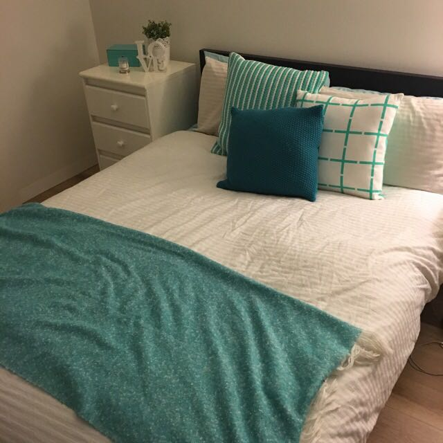 Double Bed + Mattress Pick Up ASAP