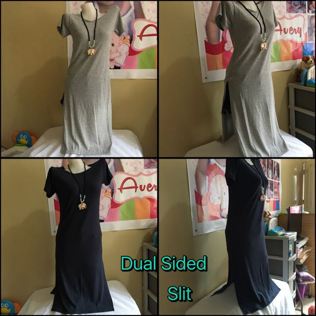 Dual Side Slit Dress