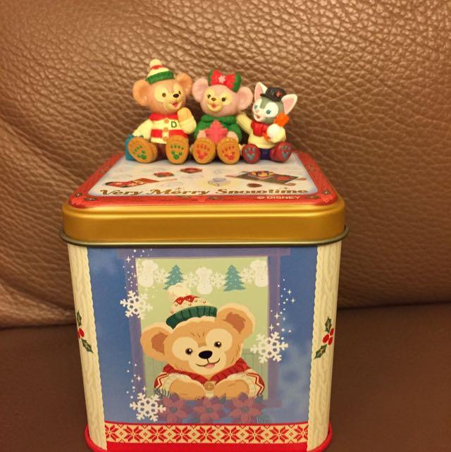 日本迪士尼海洋達菲Duffy糖果罐