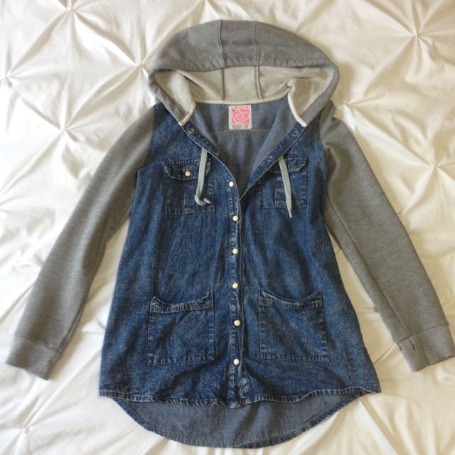 Faux Jean Sweater *REDUCED