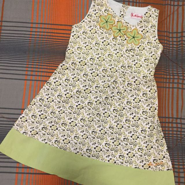 Floral Green - Sunday Dress