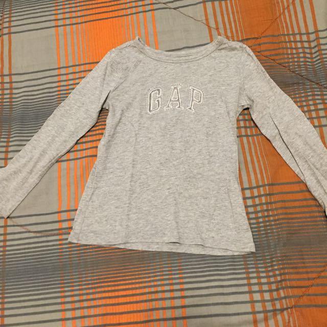 GAP Grey Long Sleeves Shirt