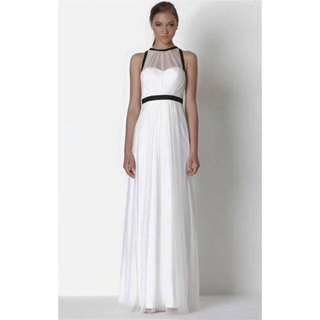 GEORGE iris gown
