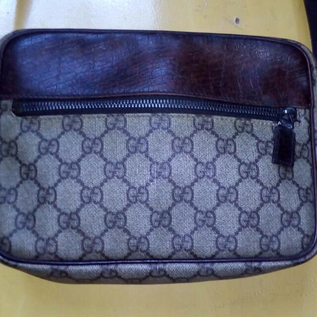 GUCCI GG Sling/Crossbody Bag Vintage