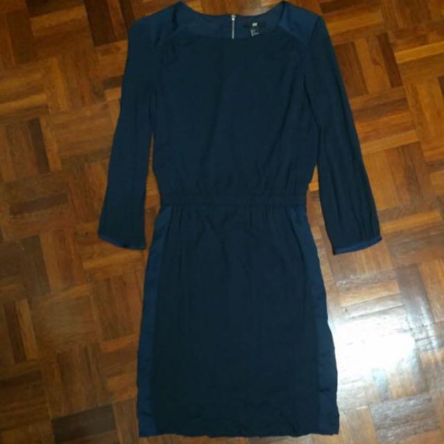 H&M Dark Teal Dress