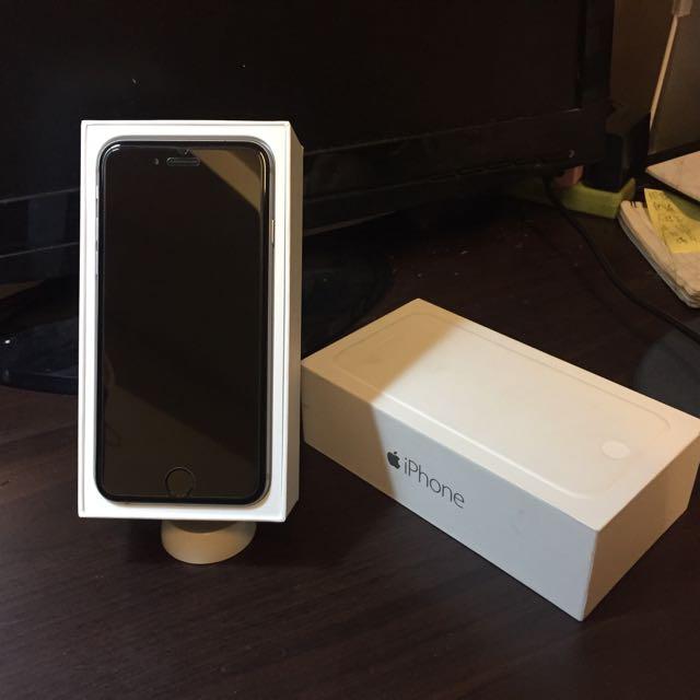 漂亮美機 iPhone6 太空灰 16G 4.7吋 盒裝配件都有