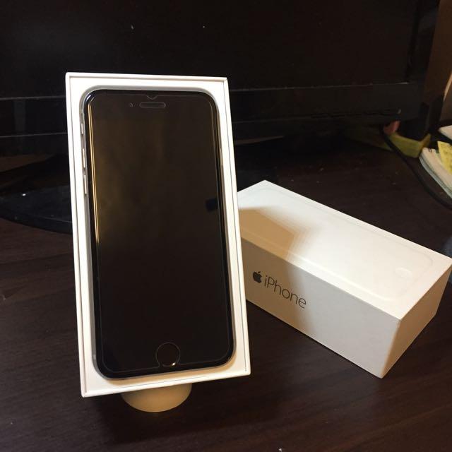 超高CP值 iPhone6 太空灰 16G 4.7吋 盒裝全配