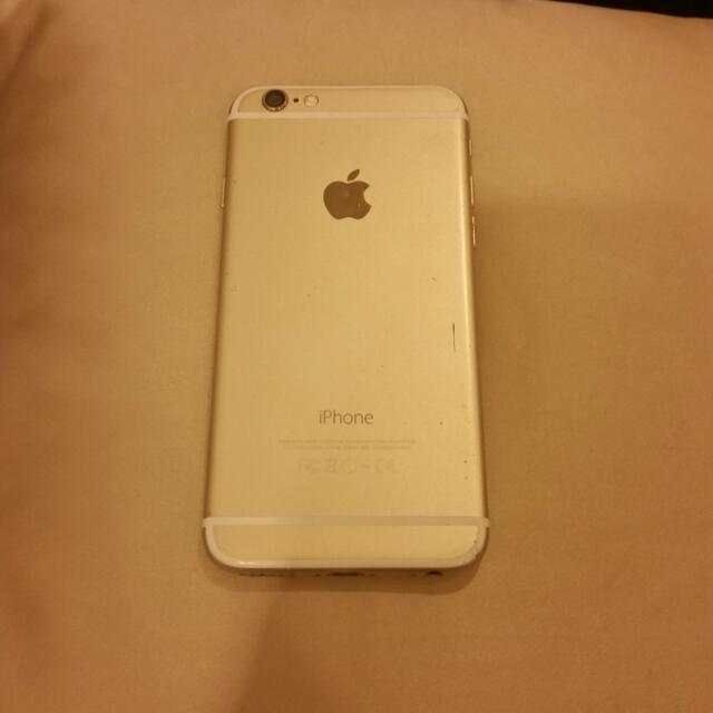Iphone 6 64gb gold *for parts*