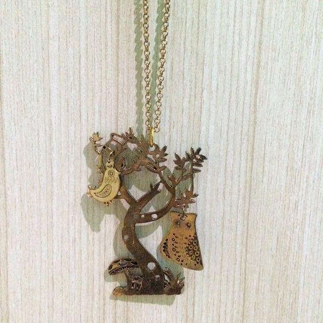 Kalung TREE gold