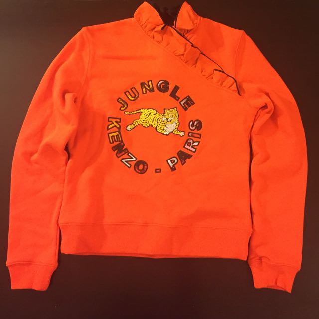 Kenzo x H&M Orange Jungle Tiger Sweater