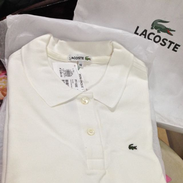 Reserved « Lacoste Mini Pique Polo