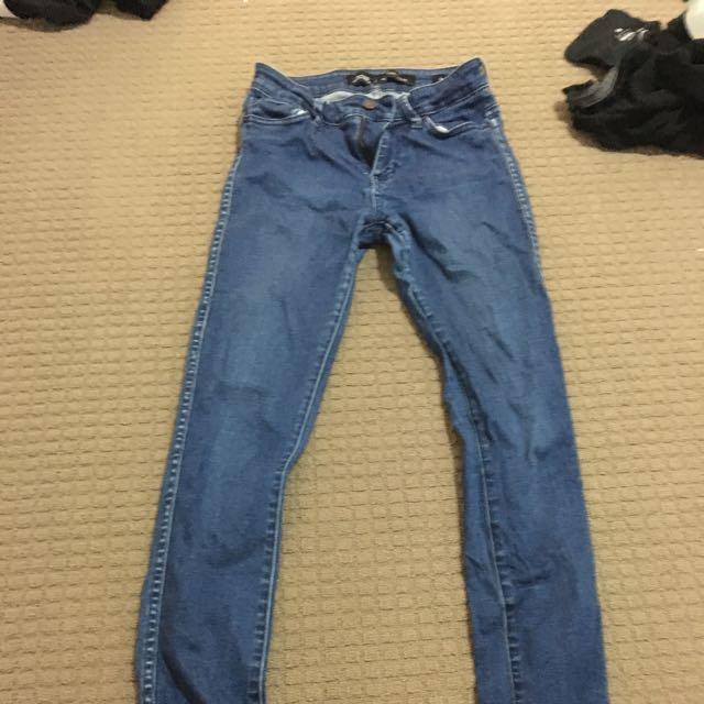 lee riders skinny jeans