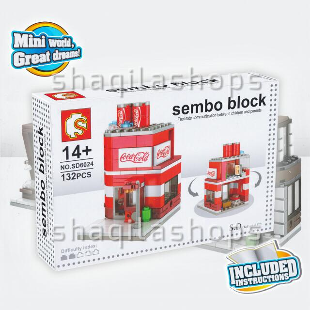 Lego City Coca Cola Sembo Block SD6024