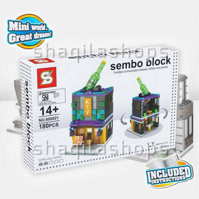 Lego City KTV Outlet Sembo Block SY600021