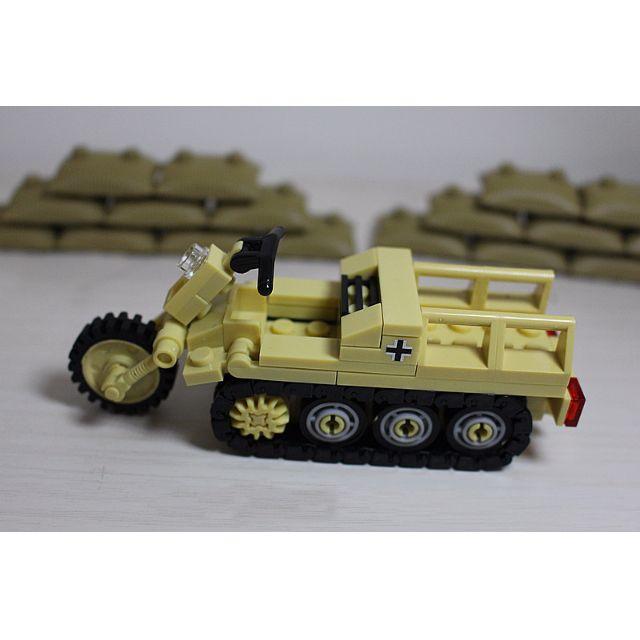 FREE Figures! LEGO Compatible WW2 WWII Afrika Korps German Army ...