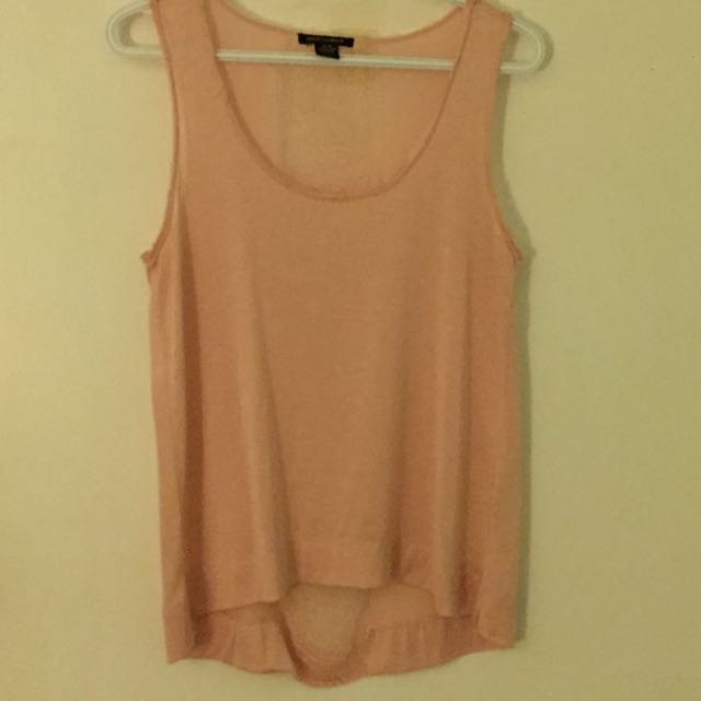 Loose Fitting Pink Tank Top