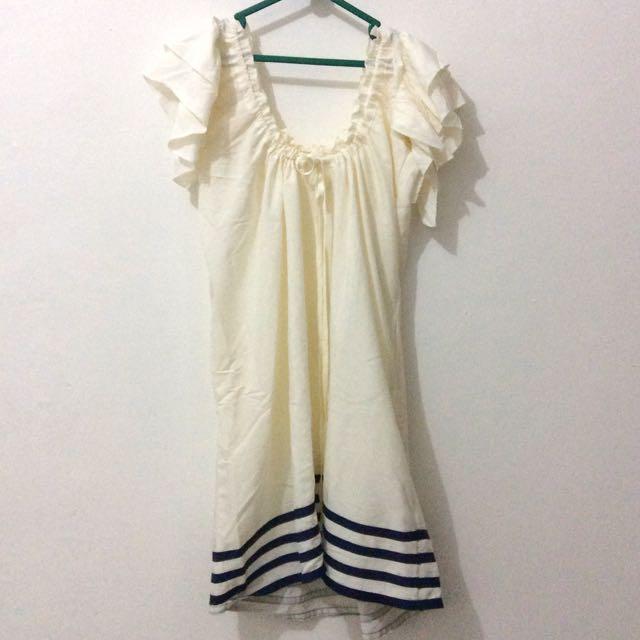 Midi Dress Serut
