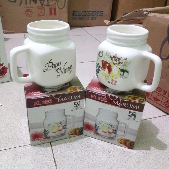 Mug Jar Keramik 1 Pc