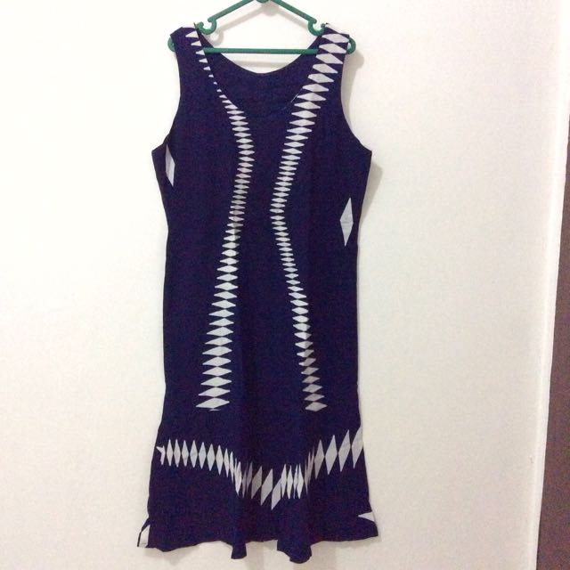 Navy Tribal Dress