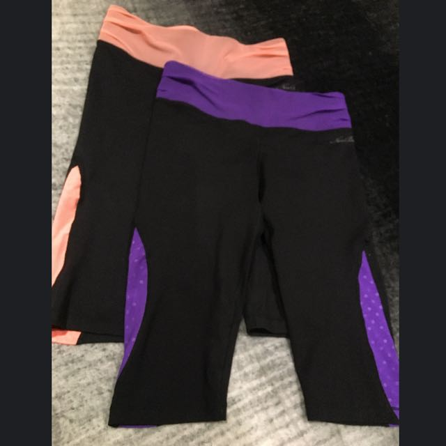 New Balance 3/4 Length Training Tights x2