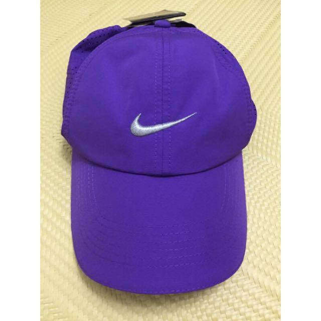 nike golf 紫色 老帽 日版 刺繡 透氣