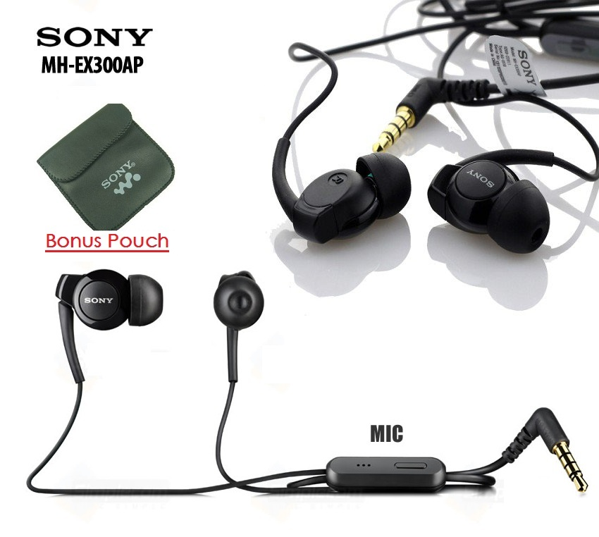 Original Sony Xperia Monitor Headset MH-EX300AP Copotan Earphone #Head, Electronics, Audio on Carousell