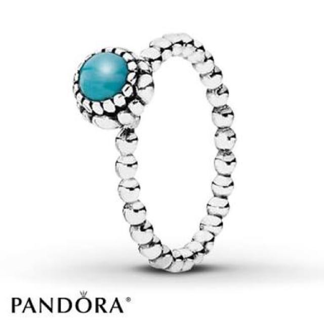 PANDORA RING (December Birthstone) ON HOLD