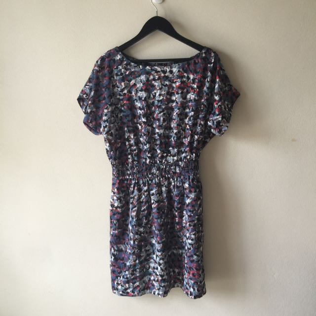 Patterned Work/Casual Dress