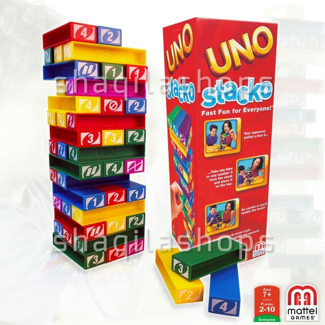 Permainan Keluarga Uno Stacko