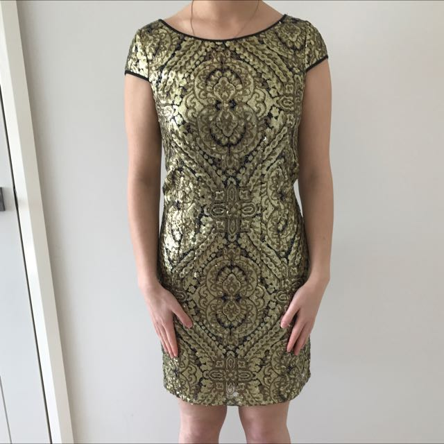 Portmans Size 8 Sequins Dress