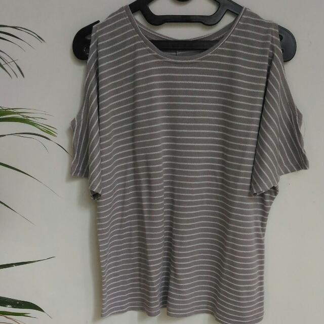 [Preloved] Grey Top