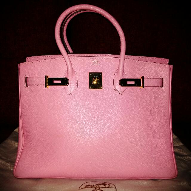 SALE!! SALE!! SALE!! Preloved HERMES Baby Pink 35cm