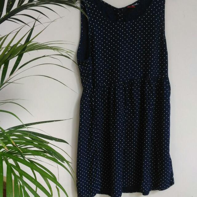 [Preloved] H&M Polka Dress