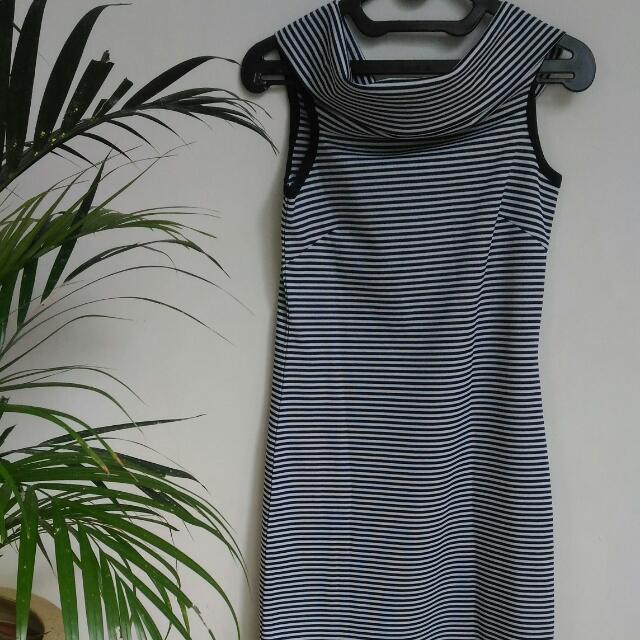 [Preloved] Stripe Vintage Dress