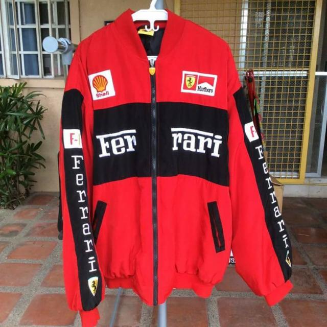 Red Ferrari Jacket