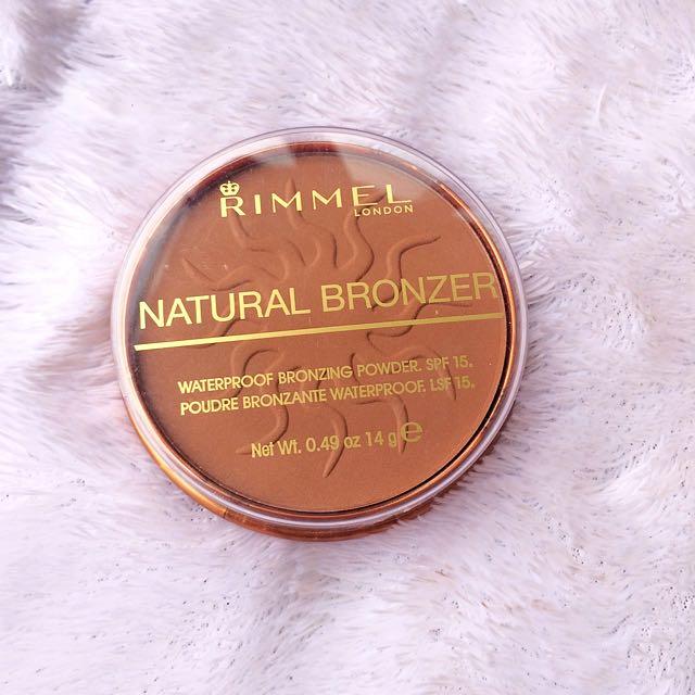 Rimmel Natural Bronze - Sunkissed