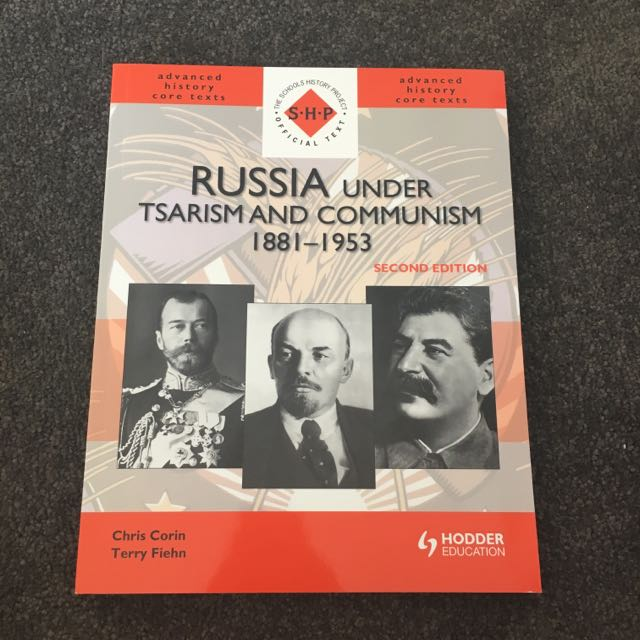 Russia under Tsarism Textbook