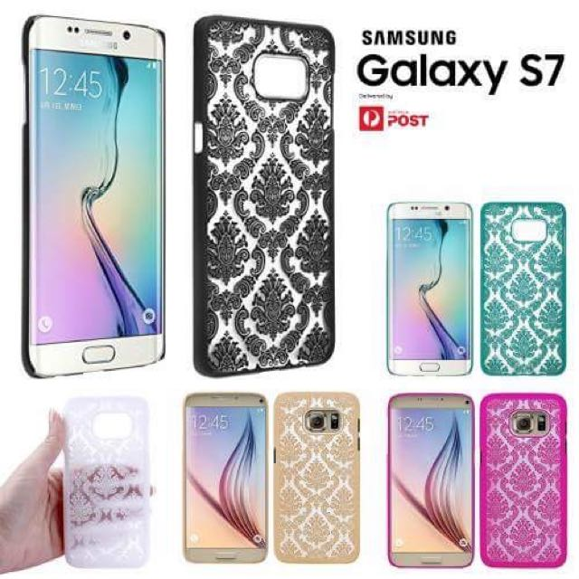 Samsung Galaxy s7 Luxury Floral Rear Cover Case