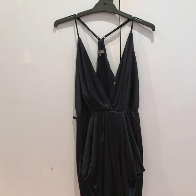 Shieke Dark Blue Dress Size 8