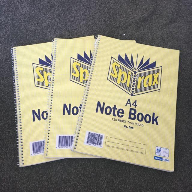 Spiral notebook bundle