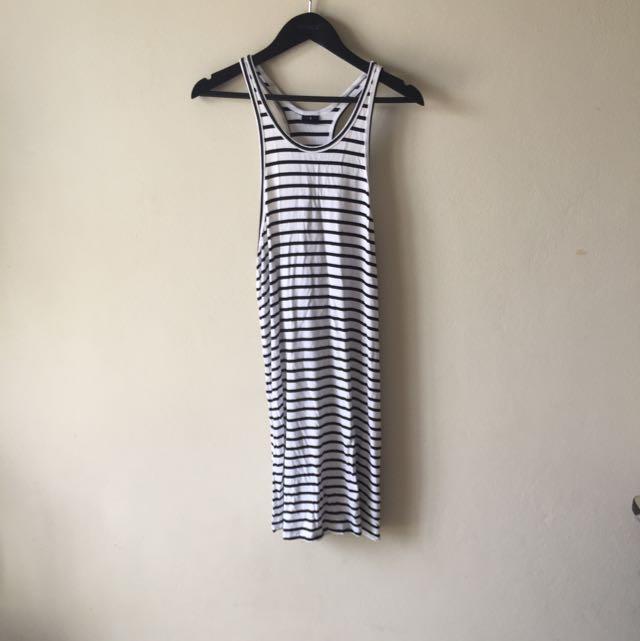 Striped Summer Singlet Dress