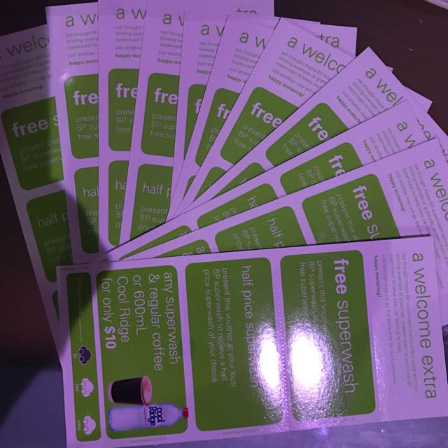 SUPERWASH VOUCHER AT BP stations! Very Affordable