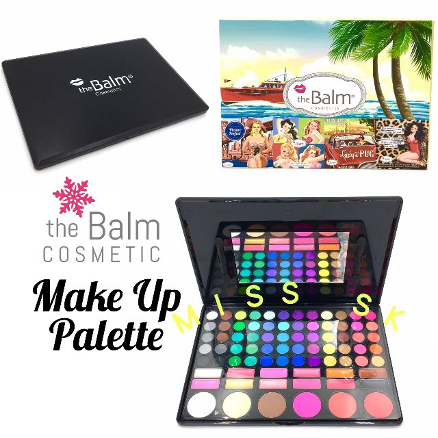 the balm make up pallete