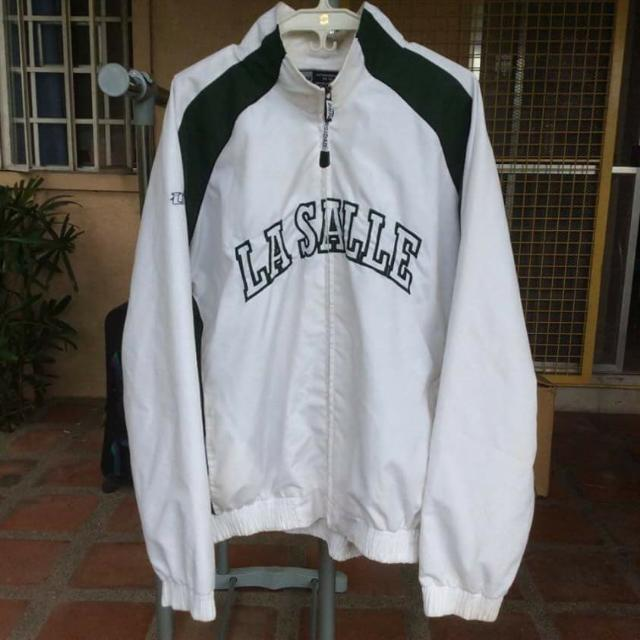 Universidad Green And White La Salle Jacket